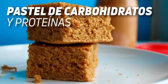 Pastel de Proteínas y Carbohidratos