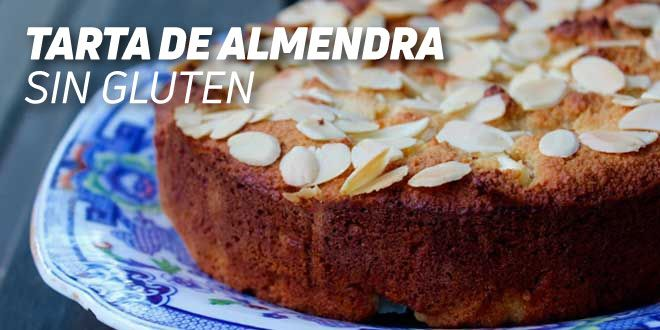 Tarta de Almendra Sin Gluten