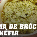 Receta Crema Fría de Brócoli con Kéfir