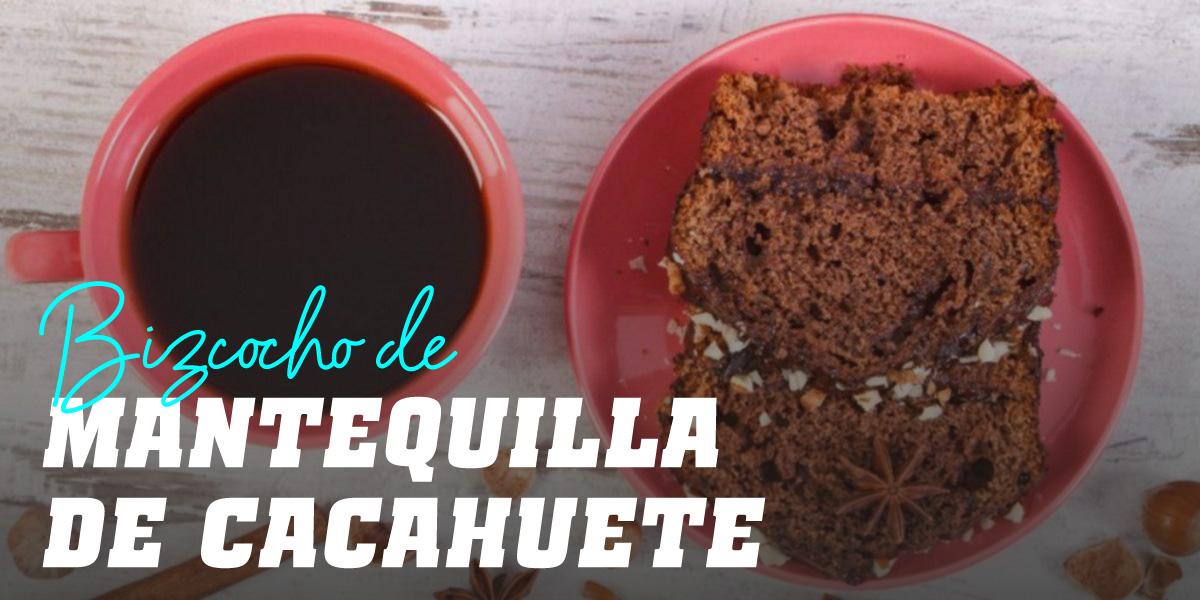 Bizcocho de Mantequilla de Cacahuete con pepitas de Chocolate