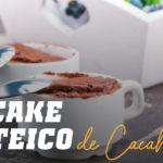 cupcake proteico de cacahuete