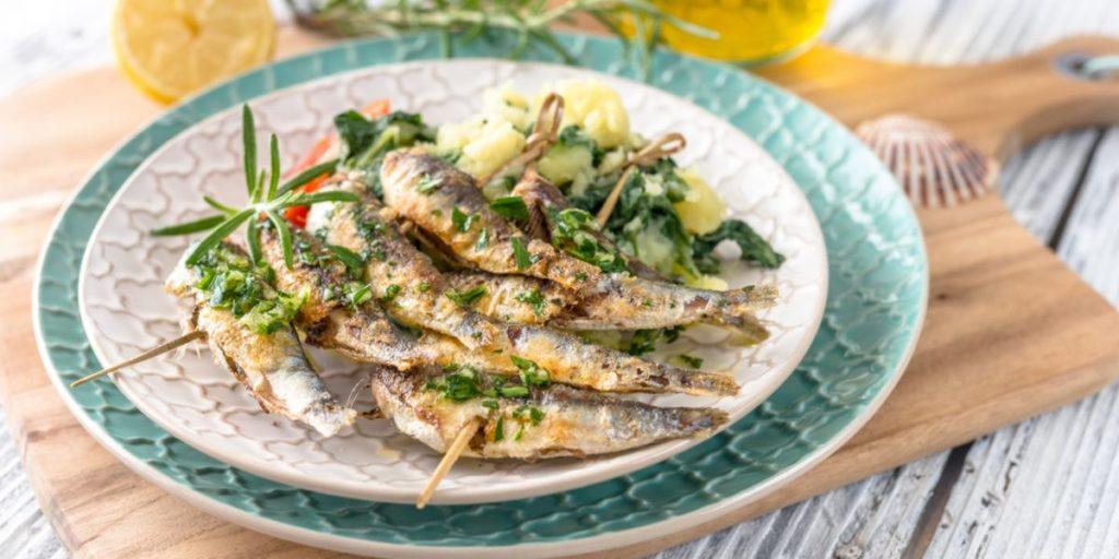 Sardinas en la dieta