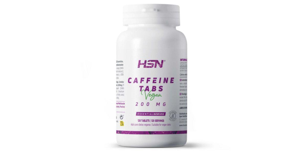 Cafeína en tabletas
