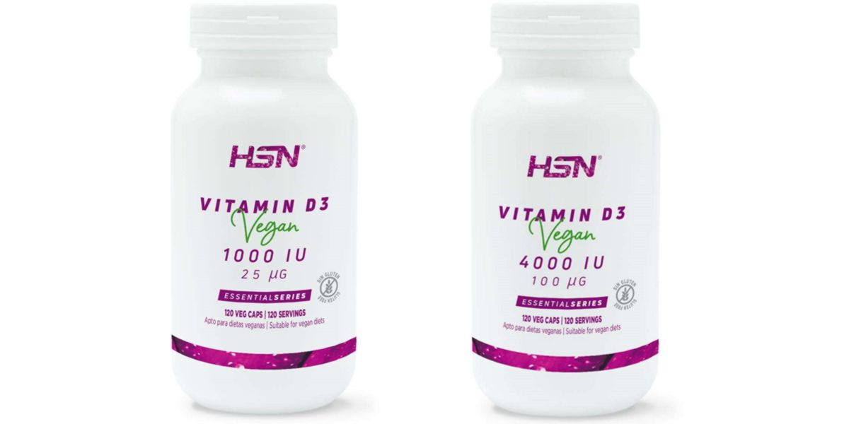 Vitamina D3 vegana EssentialSeries 1000/4000UI