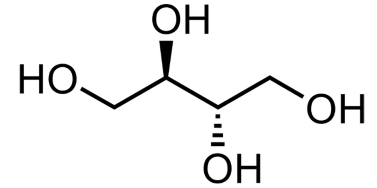 Estructura Molecular Eritritol