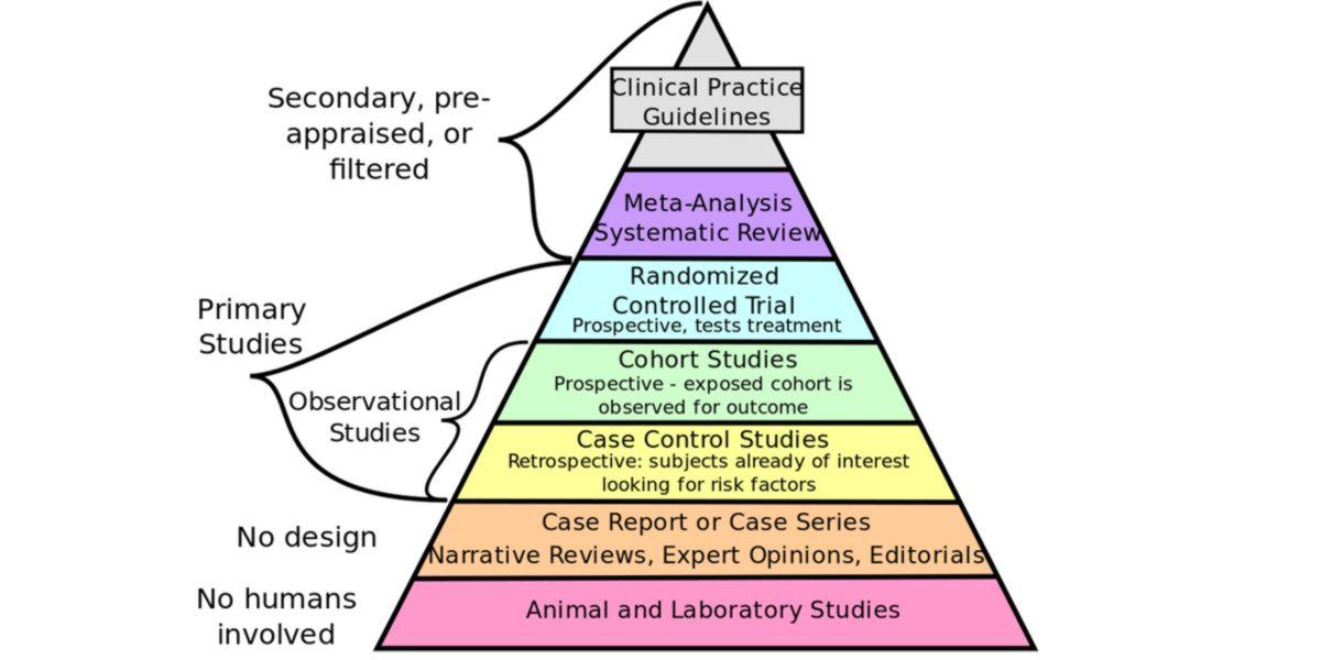 jerarquía evidencia científica