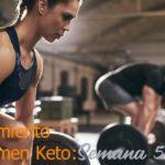 Entrenamiento de Volumen Keto - Semana 5