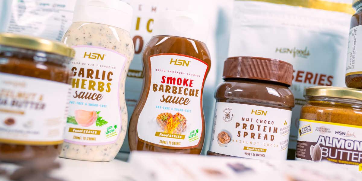 Salsas, mantequillas y NutChoco HSN