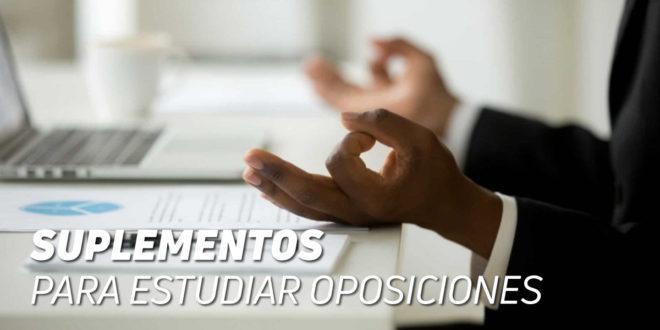 Suplementos para Estudiar Oposiciones