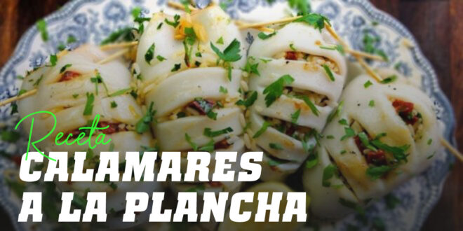 Calamares a la Plancha