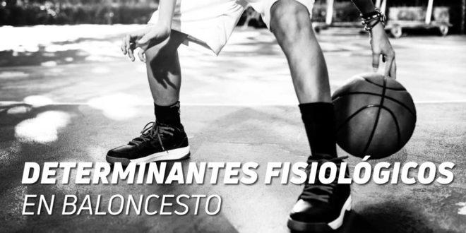 Determinantes fisiológicos del Alto Rendimiento en Baloncesto, ¿cómo desarrollarlos?