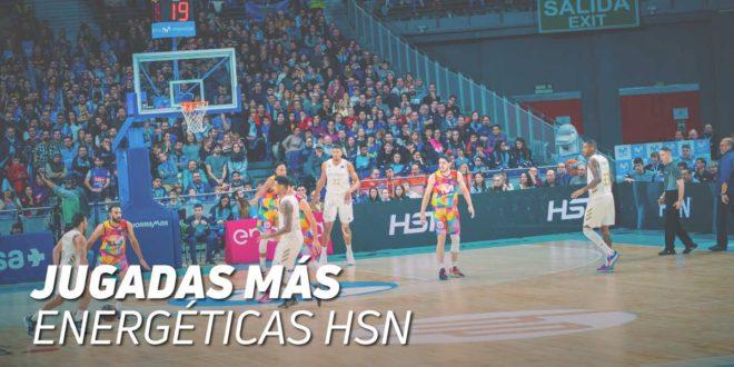 Las jugadas más energéticas HSN en la Liga Endesa ACB y Liga Femenina 2