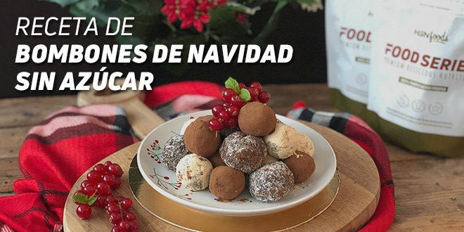 Recetas de Bombones de Navidad sin Azúcar