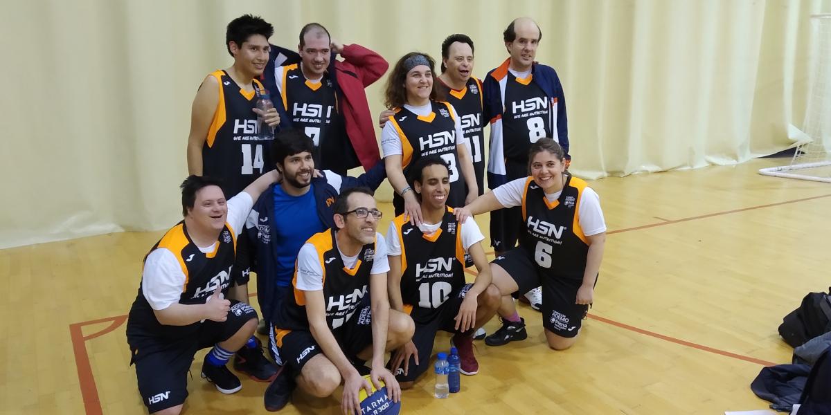 HSN patrocina al equipo de baloncesto de ADEMO