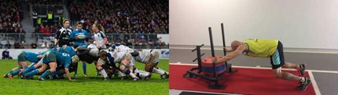 Comparación posición corporal