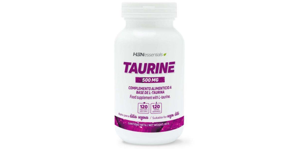 Taurina en cápsulas de HSN
