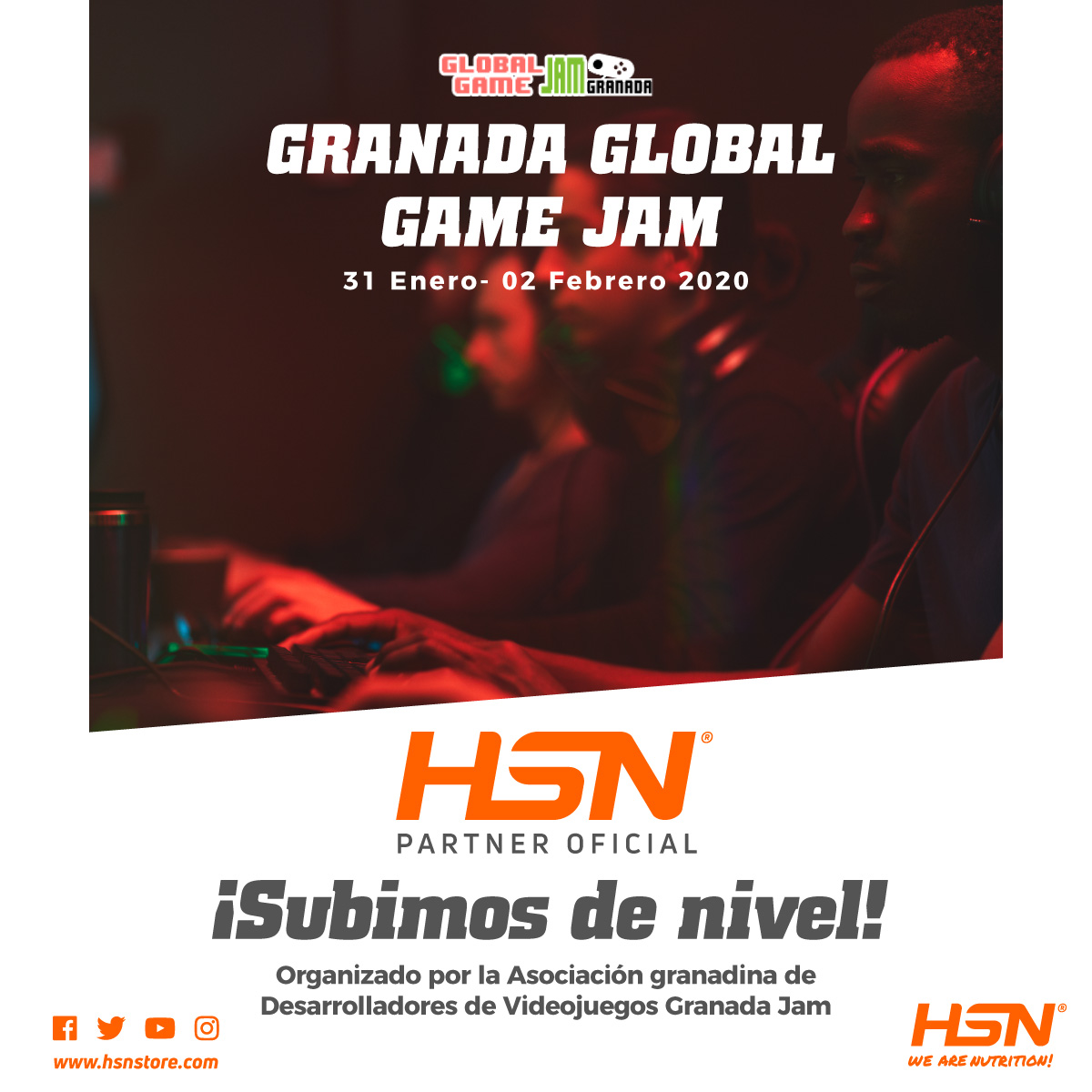 Evogamers Granada Global Game JAM