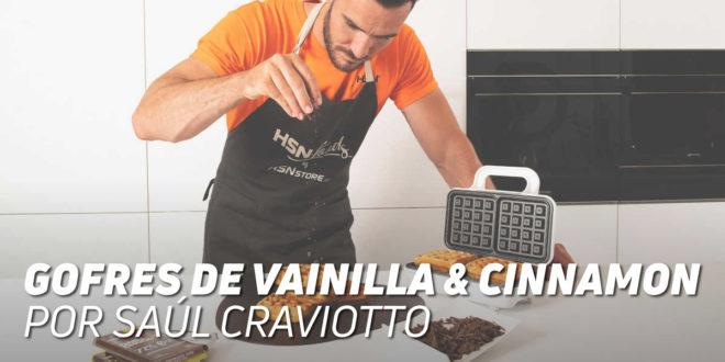 Gofres de Vainilla & Cinnamon, por Saúl Craviotto