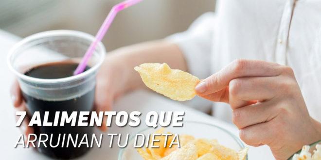 7 Alimentos que Arruinan tu Dieta