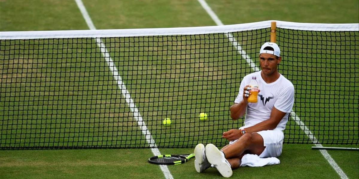¿Qué carbohidratos toman los tenistas?