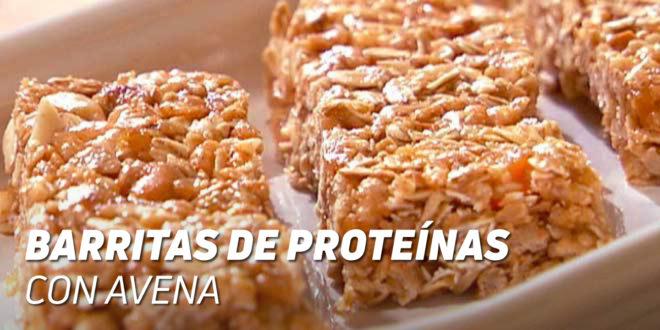 Barritas de Proteínas con Avena Horneadas
