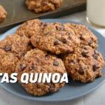 Galletas de Quinoa y Pasas