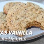 Galletas de Vainilla y Semillas de Chía