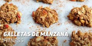 Galletas de Manzana Fitness