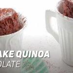 Mug cake de Quinoa y Chocolate