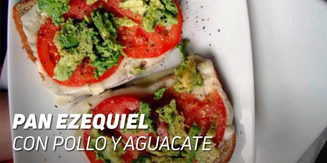 Bocadillo de Pan Ezequiel con Pollo y Aguacate