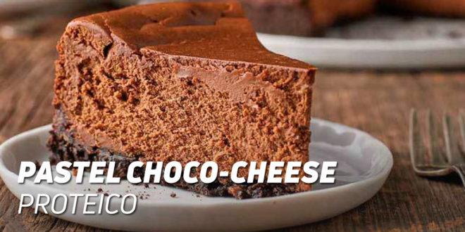 Pastel Choco-Cheese Proteico