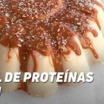 Pastel Proteico de Turrón