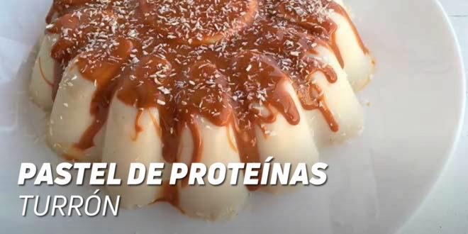 Pastel de Proteínas sabor Turrón