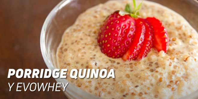 Porridge Proteico de Quinoa y Evowhey