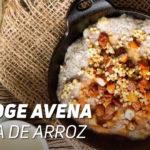Porridge de Avena y Arroz