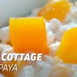 Queso Cottage con Papaya