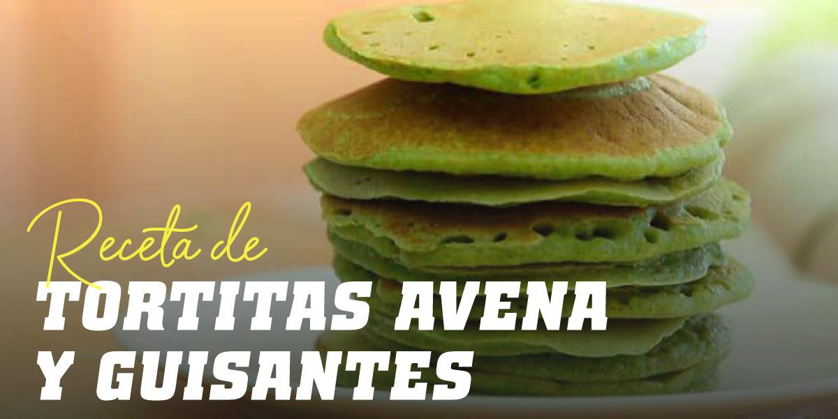 Tortita de Avena y Guisantes