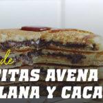 Tortitas de Avena con Crema de Avenllana y Cacao