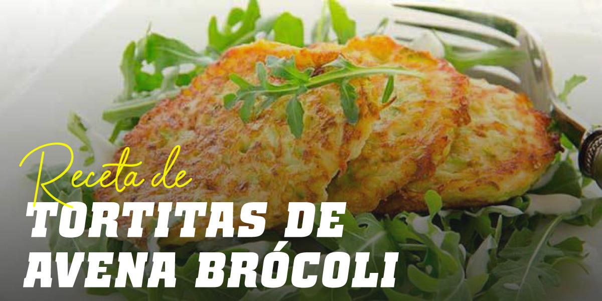 Tortitas de Avena y Claras con Brócoli