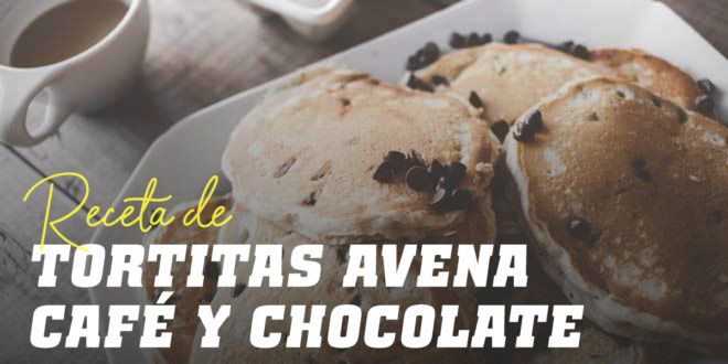 Tortitas de Avena con Café y Chips de Chocolate