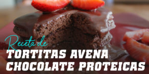 Tortitas de Avena con chocolate proteicas