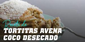 Tortitas de Avena y Coco Desecado