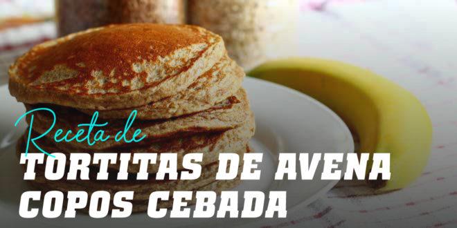 Tortitas de Avena con Copos de Cebada