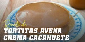 Tortitas de Avena con Crema de Cacahuete