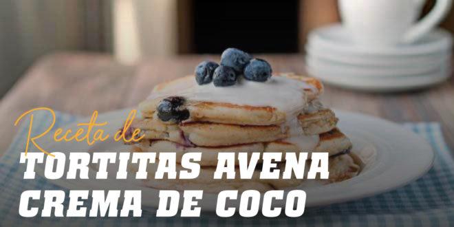 Tortitas de Avena con Crema de Coco