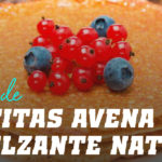 Tortitas de Avena con Endulzante Natural