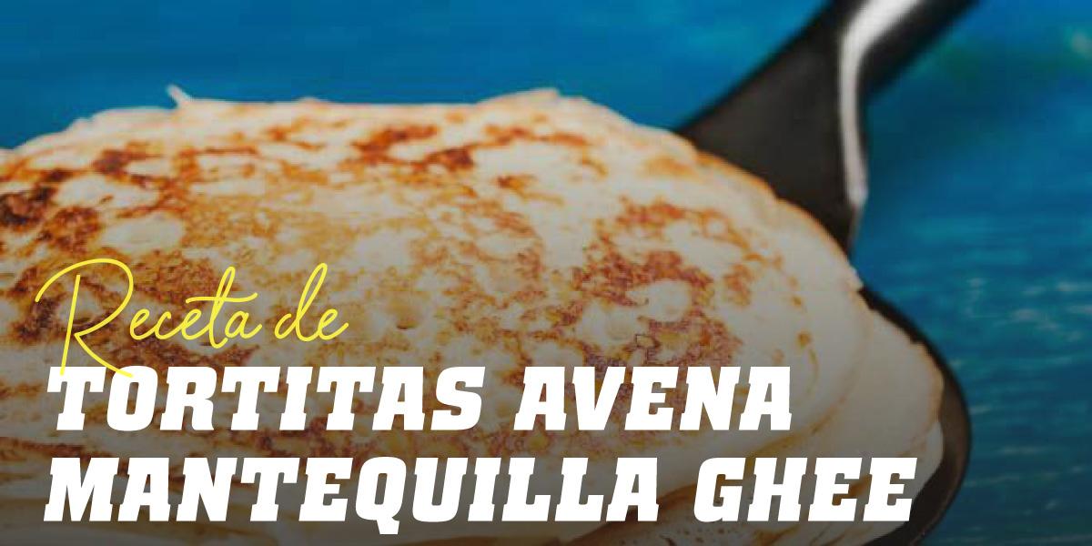 Tortitas de Avena con Mantequilla Ghee