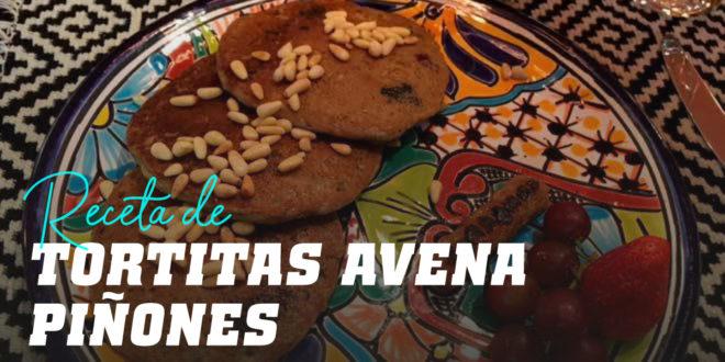 Tortitas de Avena con Piñones