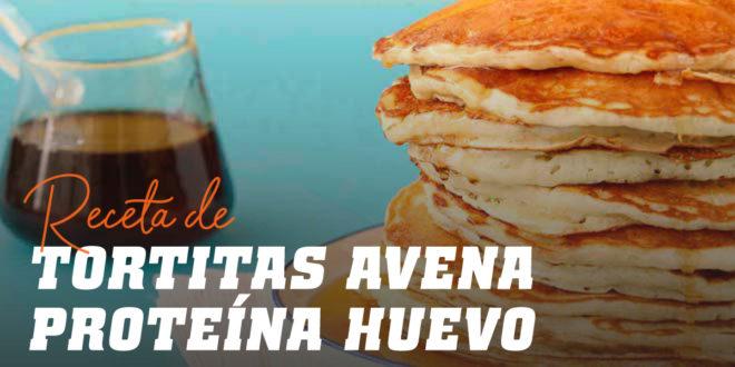 Tortitas de Avena con Proteína de Huevo