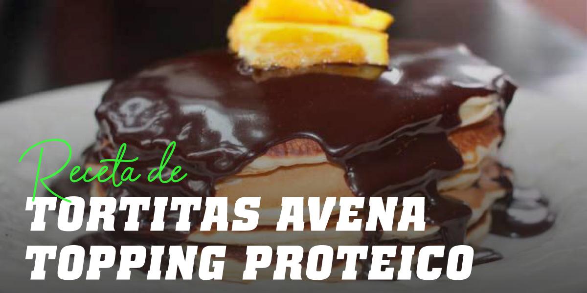 Tortitas de Avena con Topping Proteico